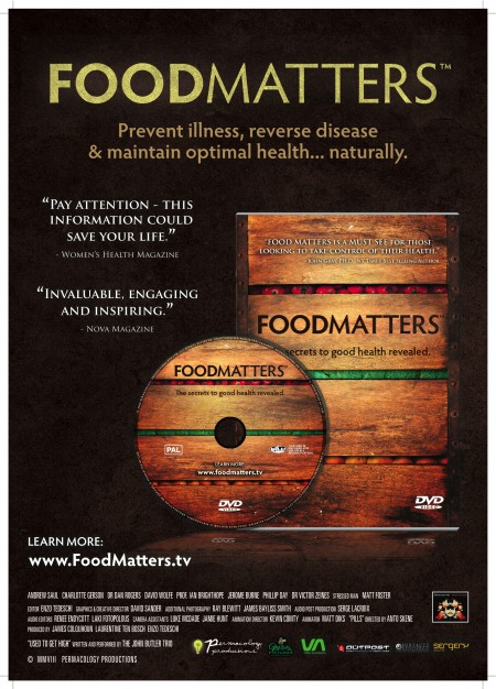 view the Food Matters documentary for free