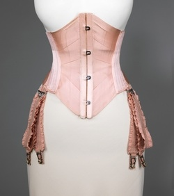 Wearing a corset might not be fun, but having a an hour-glass shape certainly is!