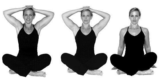 Re-set your shoulders in 1-2-3 seconds.