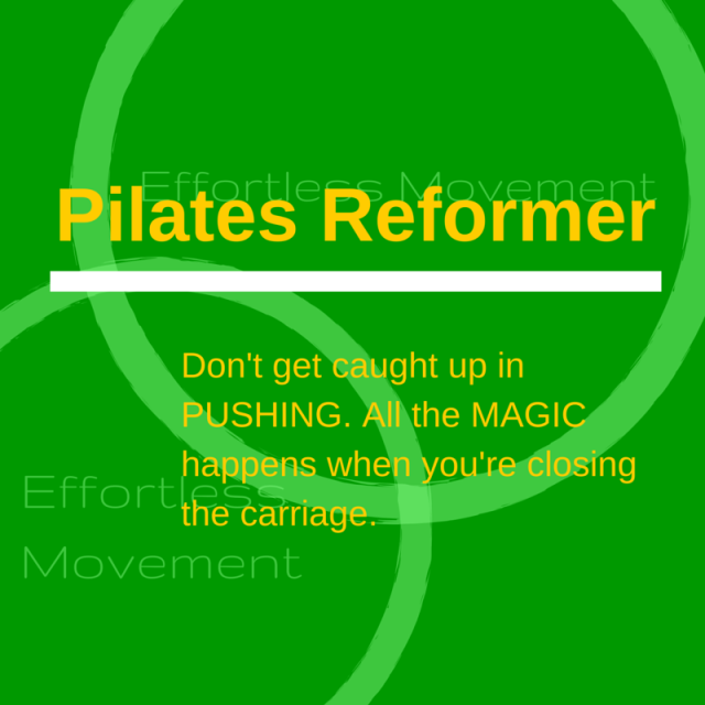 pilates reformer magic
