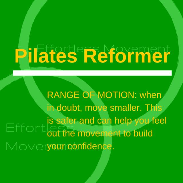 Pilates Reformer ROM